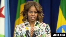 Matar Shugaban Kasar Amurka, Michelle Obama.