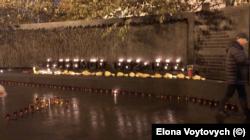 Меморіалу Пам'яті жертв Голодомору, 86 річниця.
