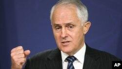 Thủ tướng Úc Malcolm Turnbull nói ông lấy làm tiếc về những người thiệt mạng và bị thương nhưng ông sẽ không suy đoán về lý do tại sao cuộc không kích ở đông Syria đã sai lầm tệ hại như vậy. (Ảnh tư liệu)