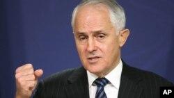 Thủ tướng Úc Malcolm Turnbull.