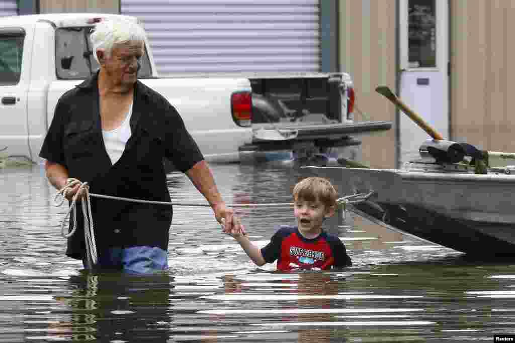 ABŞ - Luiziana ştatında sel