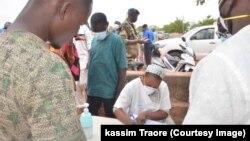 Premier cas de coronavirus au Mali. (VOA/ Kassim Traoré)