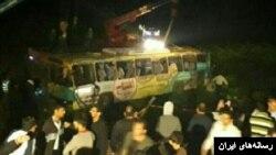 واژگونی یک اتوبوس در لرستان پنج کشته و دهها زخمی برجای گذاشت