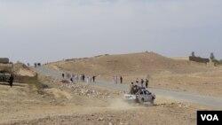 عملیاتهای زمینی و هوایی نظامیان افغان، دو روز پیش در مناطق پیخی، عبدالخیل، مامند، نرگوسی و تپه مزدکی ولسوالی اچین آغاز شده است.