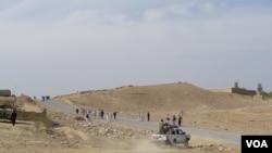 ننګرهارله اچین څخه افغان ځواکونه به داسط وخت کې راوتلي،چې ددغه ولایت په چپرهارکې د داعش او طالبانو ترمنځ سخته جګړه روانه ده