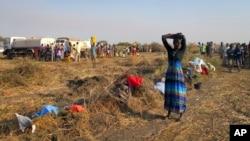 南蘇丹有4萬多人繼續在聯合國基地避難