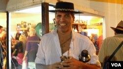 """Los """"gauchos"""" o vaqueros, son el mayor atractivo de la feria que se celebra en Montevideo desde 1925."""