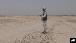 آرشیف: یکی از مناطق سیلاب زده در افغانستان