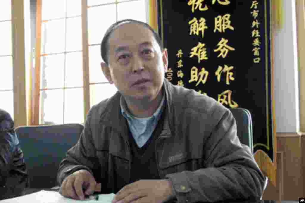 丹東市對外貿易經濟合作局處長黃憲民