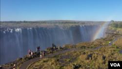 Impopoma ze Victoria Falls.