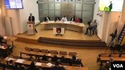 Obraćanje premijera Edina Forte u Skupštini Kantona Sarajevo uoči glasanja o povjerenju Vlade Kantona Sarajevo