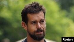 Jack Dorsey, CEO Twitter yang baru dilantik dan juga CEO Square. (Reuters/Mike Blake)
