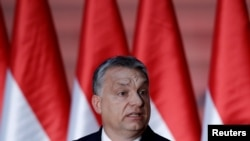 FILE - Hungarian Prime Minister Viktor Orban.