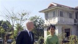 بريتانيا: لغو تحريم ها عليه برمه مشروط است به پيشبرد اصلاحات
