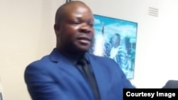 ZDI Director Dr Pedzisai Ruhanya left and MDC-T Organising Sec Amos Chibaya