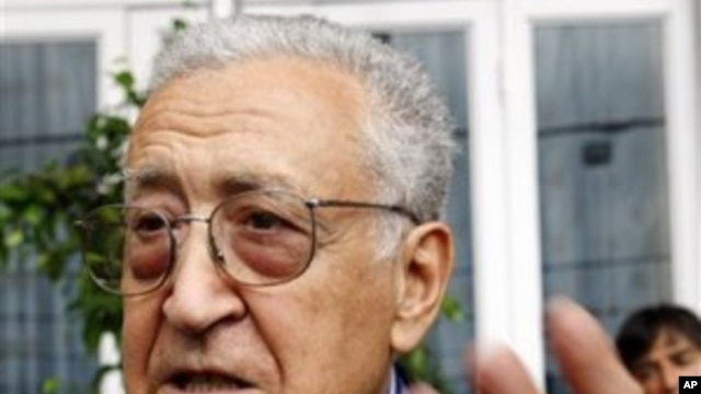 Former UN envoy and advisor Lakhdar Brahimi  (File Photo)
