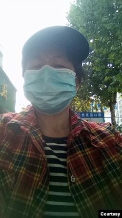 中国湖北省洪洞县被强制堕胎村民张文芳