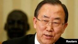El secretario general de la ONU, Ban Ki-moon, se reunió con Barack Obama quien se comprometió a buscar una salida diplomática a la crisis con Corea del Norte.
