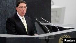 Menlu Kuba Bruno Rodriguez mengatakan embargo AS telah merugikan ekonomi Kuba lebih dari satu triliun dollar (foto: dok).