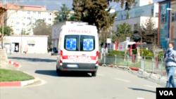 Corona Virus Image in Albania