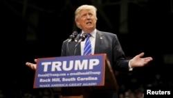 FILE - Republican presidential candidate Donald Trump.