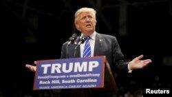 Ứng cử viên Tổng thống Đảng Cộng hòa Donald Trump.