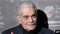 Omar Sharif brilló en Hollywood en la década de 1960.