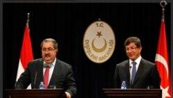 احمد داود اوغلو: حمله کردها از عراق به خاک ترکیه باید متوقف شود
