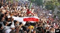 ادامۀ تظاهرات در مصر