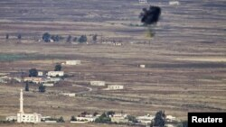 Граница между Израилем и Сирией