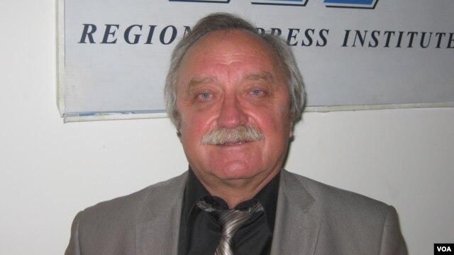 Олег Бодров, председатель Совета общественной благотворительной экологической организации «Зеленый мир»