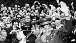 Юрий Гагарин 1961 год