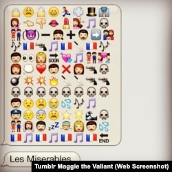 Les Miserables in Emojis