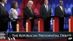 Republikanski natjecatelji za Bijelu kuću smatraju da se Amerika ne bi trebala miješati u europsku dužničku krizu