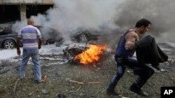 U.S. Condemns Beirut Bombings