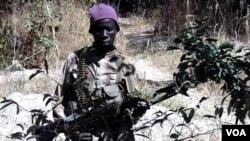 Un rebelle du Mouvement des forces démocratiques de la Casamance