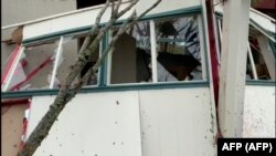 Ostaci domova u Luizijani nakon Lore