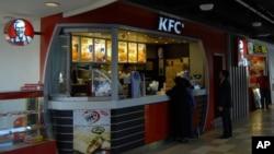 시리아 수도 다마스쿠스의 KFC 식당. (자료사진)