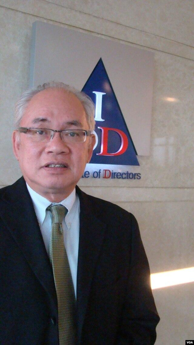 Former Thai Central Bank deputy governor Bandid Nijathaworn. (R. Corben/VOA)