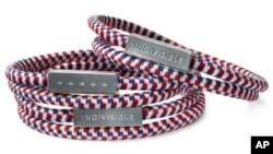 Starbucks is giving these bracelets to customers who donate $5 or more to the Create Jobs for USA program.