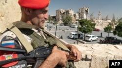 Офицер военной полиции РФ. Сирия (архивное фото)