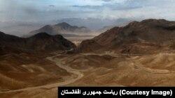 Tambang tembaga di Logar, Afghanistan.