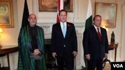 د افغانستان، پاکستان او بریتانیا ترمنځ په لندن کې درې اړخیزه غونډه وشوه