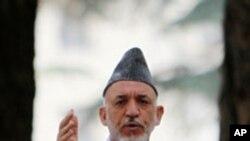 Avganistanski predsednik Hamid Karzai (arhiv)