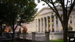 ساختمان وزارت خزانهداری آمریکا در واشنگتن دیسی
