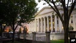 Здание Министества финансов США в Вашингтоне