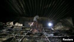 Prema izvoru iz pokrajinskog odjeljenja za zdravstvo, požar je izazvala eksplozija boce sa kisikom.