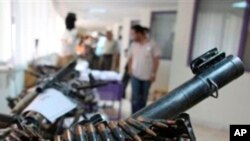 Eight Central African Countries Sign Small Arms Trafficking Treaty