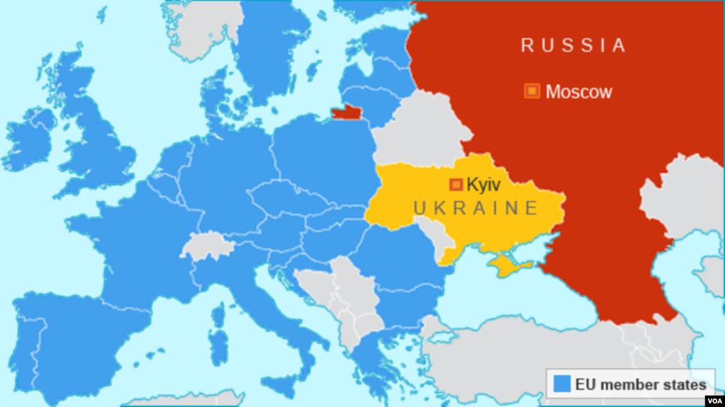 Survey Reveals Few Americans Know Ukraine Location