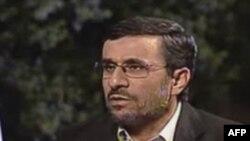 Ahmadinexhad, paralajmërime ndaj SHBA, Izraelit kundër sulmeve